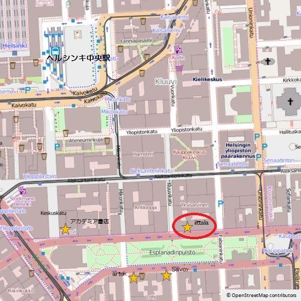 OpenStreetMap -iittala