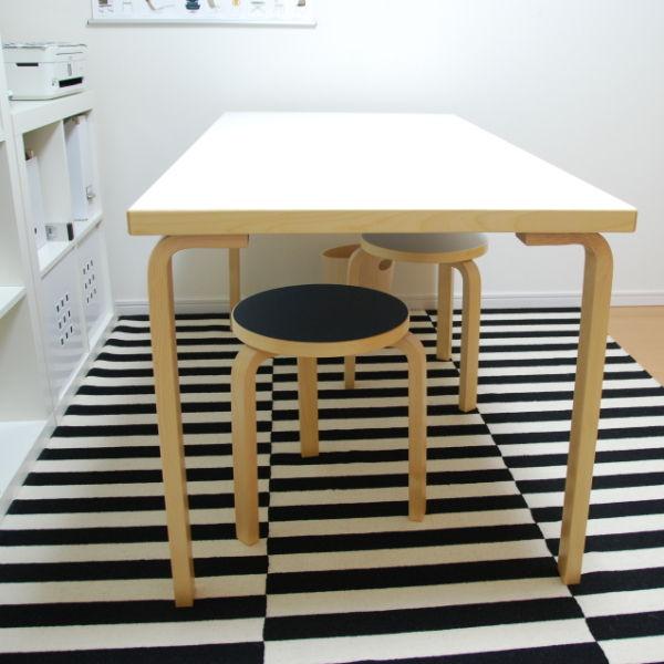 20141002_作業部屋のアルテックテーブル01