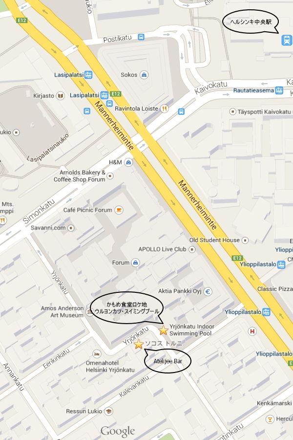20140520_Socos Hotel Torni Atrlijee Bar 地図01